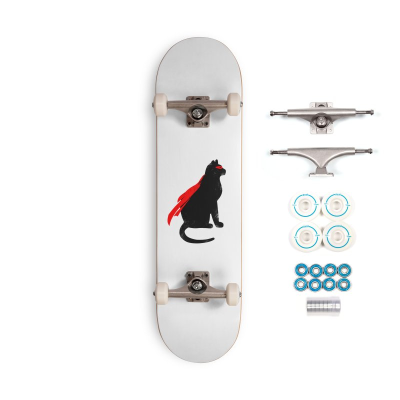 Super Hero cat Accessories Complete - Basic Skateboard by clingcling's Artist Shop