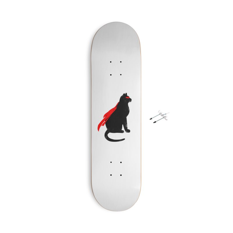 Super Hero cat Accessories With Hanging Hardware Skateboard by clingcling's Artist Shop