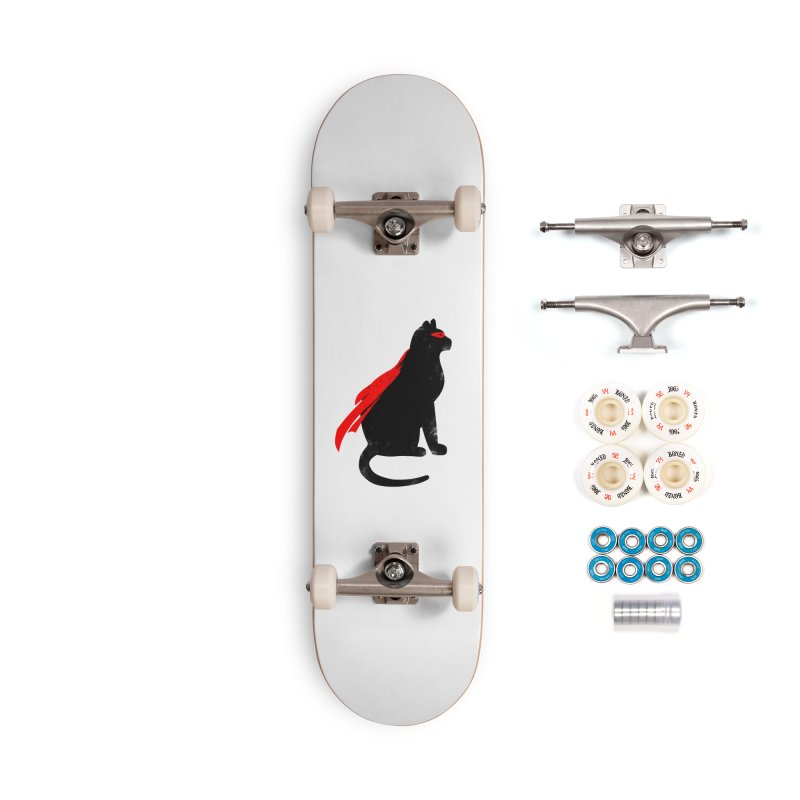 Super Hero cat Accessories Complete - Premium Skateboard by clingcling's Artist Shop