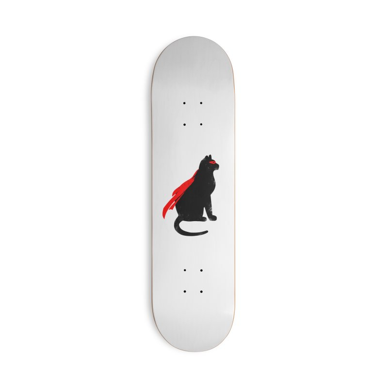 Super Hero cat Accessories Deck Only Skateboard by clingcling's Artist Shop