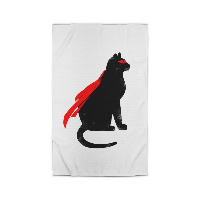 Super Hero cat Home Rug by clingcling's Artist Shop