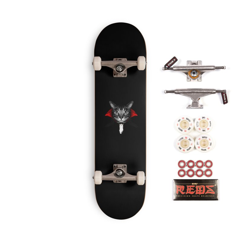 Vampire cat Accessories Complete - Pro Skateboard by clingcling's Artist Shop