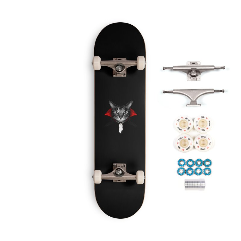 Vampire cat Accessories Complete - Premium Skateboard by clingcling's Artist Shop