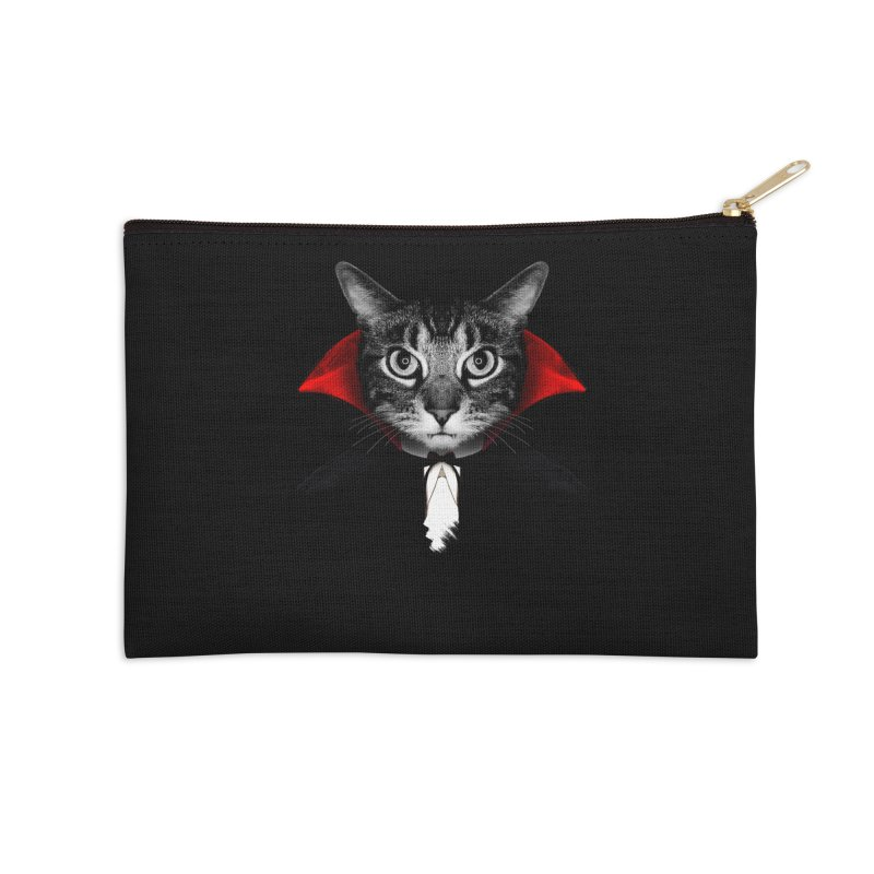 Vampire cat Accessories Zip Pouch by clingcling's Artist Shop