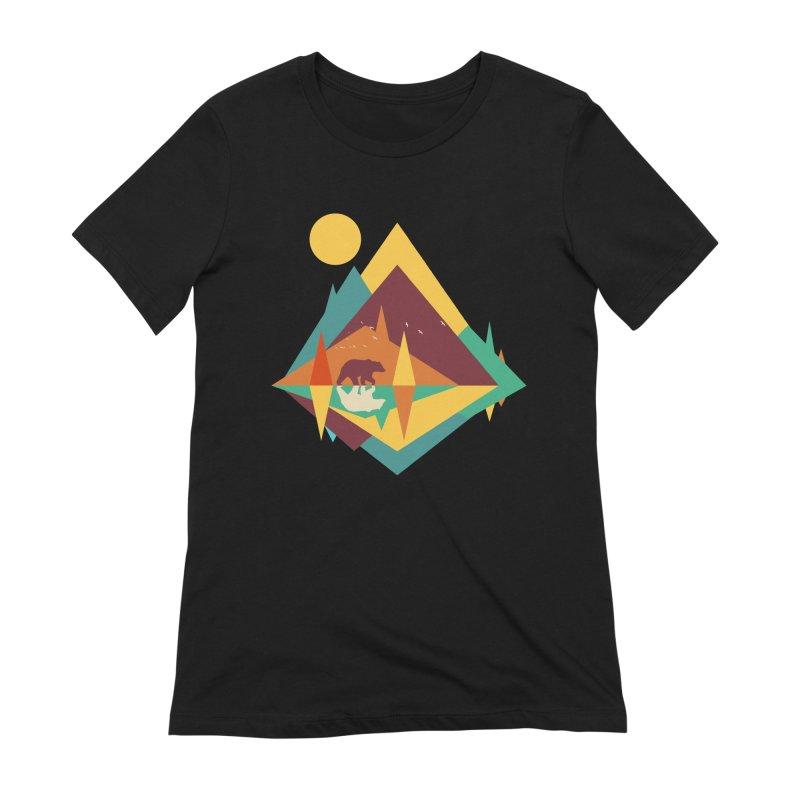 wilderness Women's Extra Soft T-Shirt by clingcling's Artist Shop