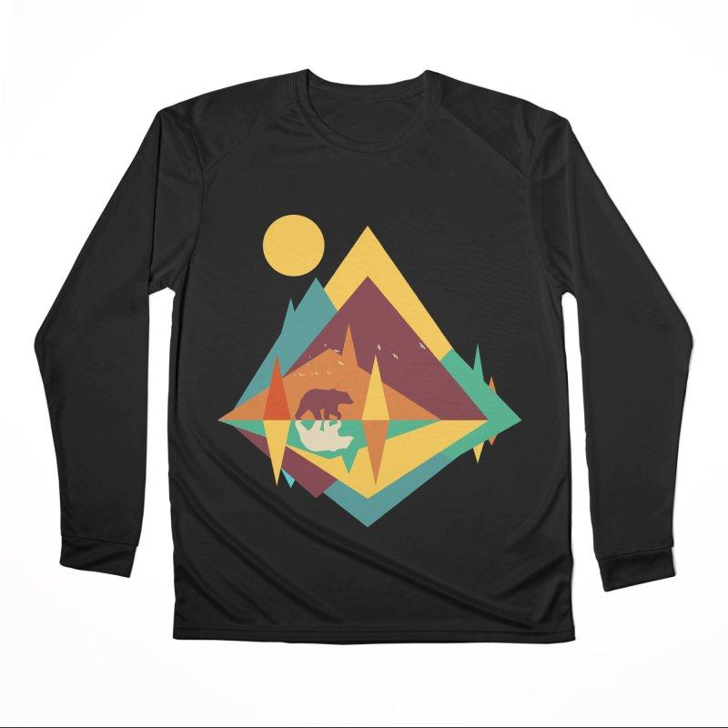 wilderness Men's Performance Longsleeve T-Shirt by clingcling's Artist Shop