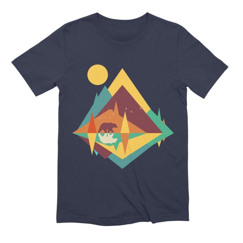 wilderness Men's Extra Soft T-Shirt by clingcling's Artist Shop