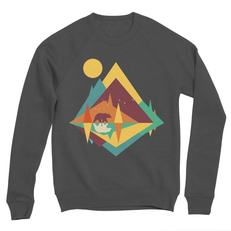 wilderness Women's Sponge Fleece Sweatshirt by clingcling's Artist Shop