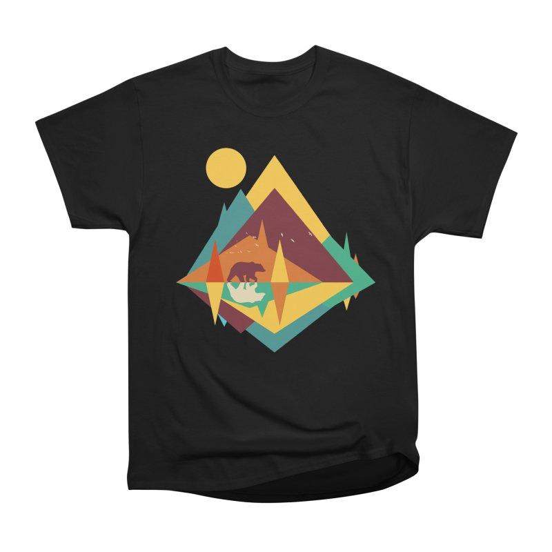 wilderness Women's Heavyweight Unisex T-Shirt by clingcling's Artist Shop