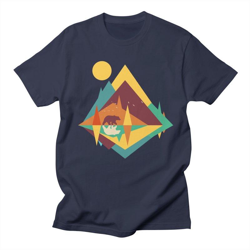wilderness Men's Regular T-Shirt by clingcling's Artist Shop