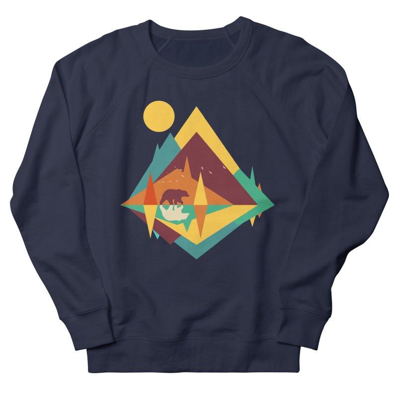 wilderness Men's French Terry Sweatshirt by clingcling's Artist Shop
