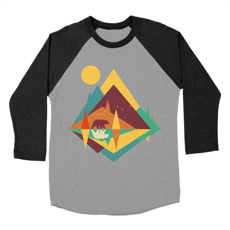 wilderness Men's Baseball Triblend Longsleeve T-Shirt by clingcling's Artist Shop