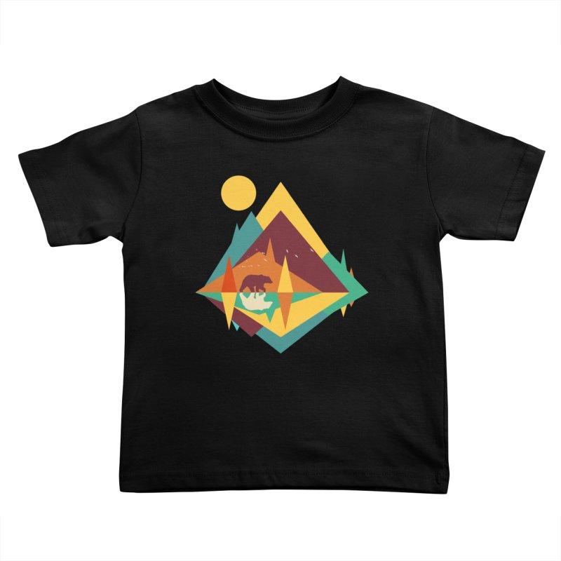 wilderness Kids Toddler T-Shirt by clingcling's Artist Shop