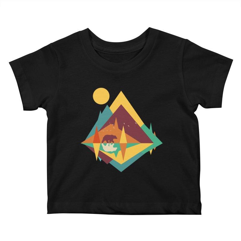 wilderness Kids Baby T-Shirt by clingcling's Artist Shop