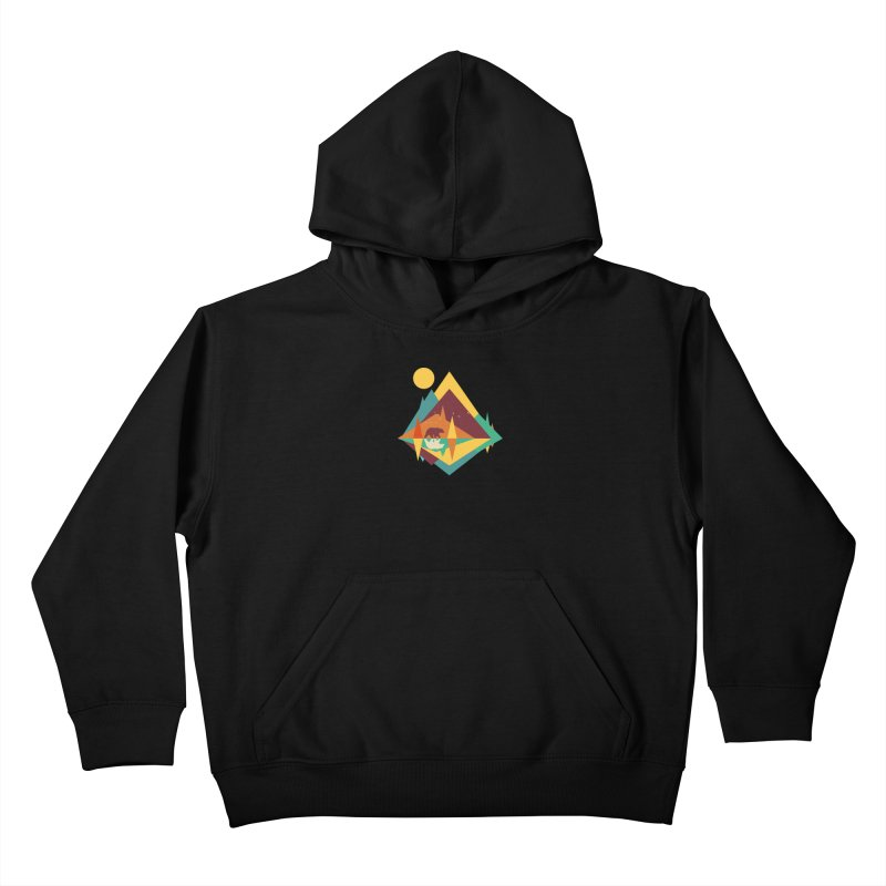 wilderness Kids Pullover Hoody by clingcling's Artist Shop