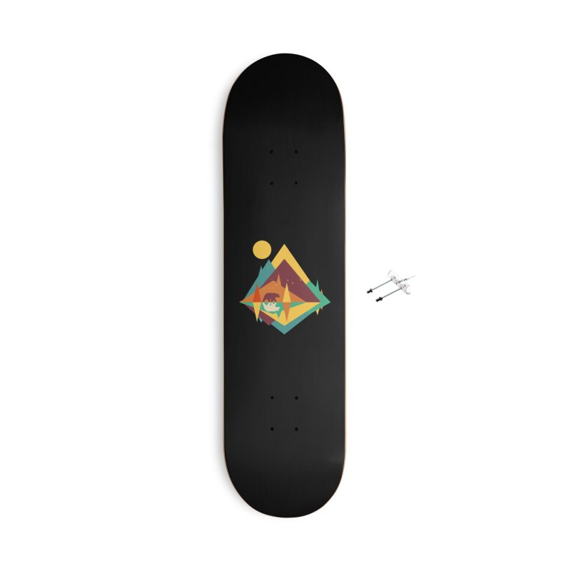 wilderness Accessories With Hanging Hardware Skateboard by clingcling's Artist Shop