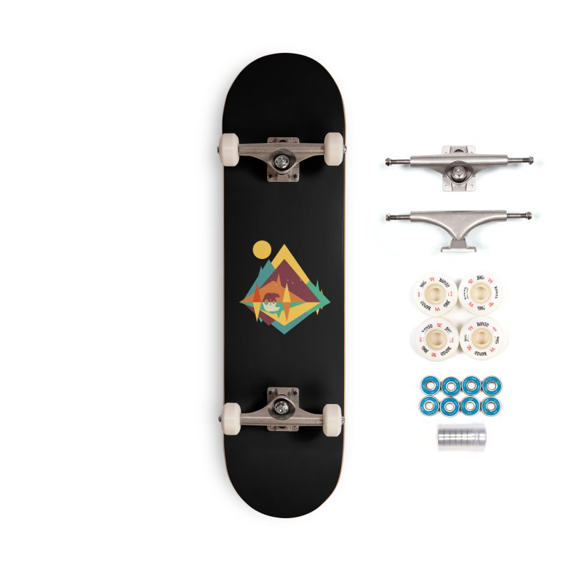 wilderness Accessories Complete - Premium Skateboard by clingcling's Artist Shop