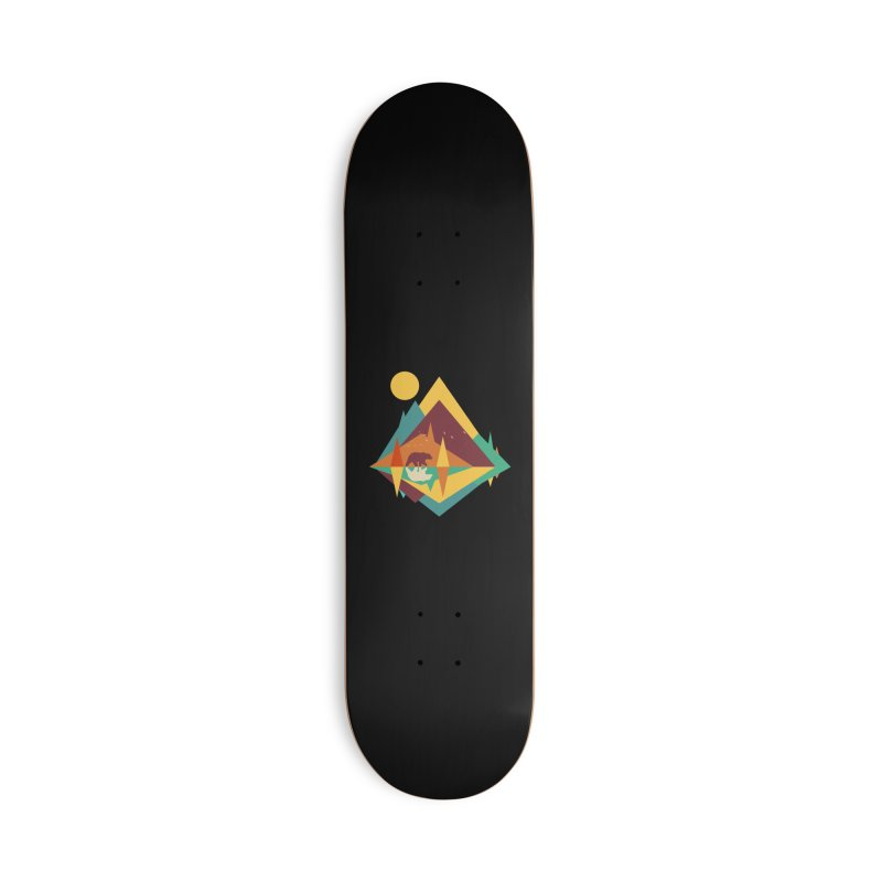 wilderness Accessories Deck Only Skateboard by clingcling's Artist Shop