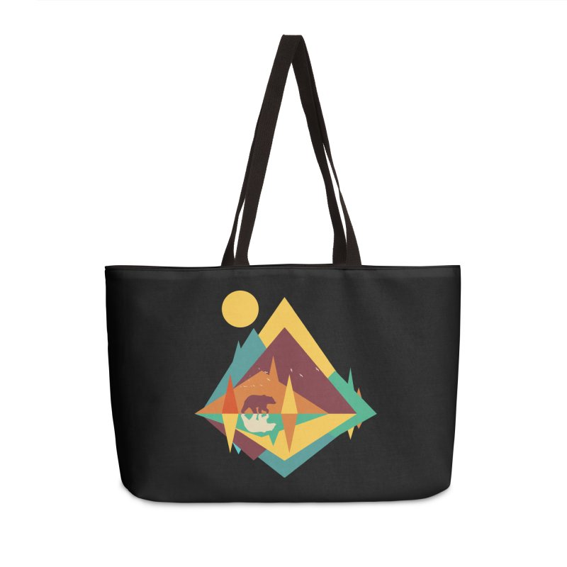 wilderness Accessories Weekender Bag Bag by clingcling's Artist Shop