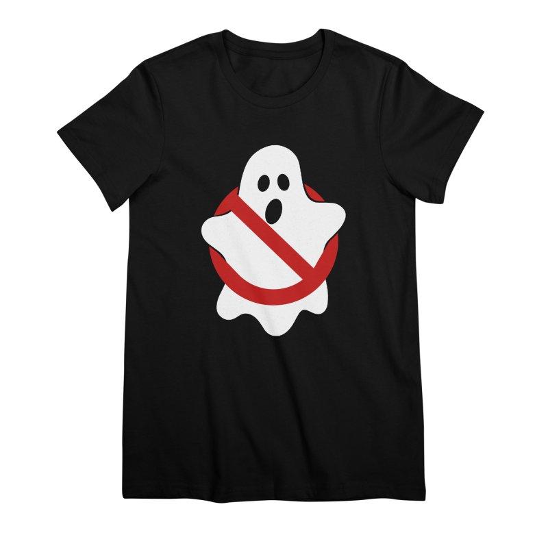 Beware of ghost Women's Premium T-Shirt by clingcling's Artist Shop