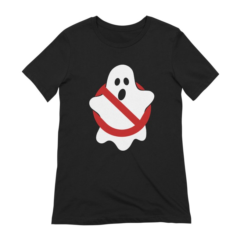 Beware of ghost Women's Extra Soft T-Shirt by clingcling's Artist Shop