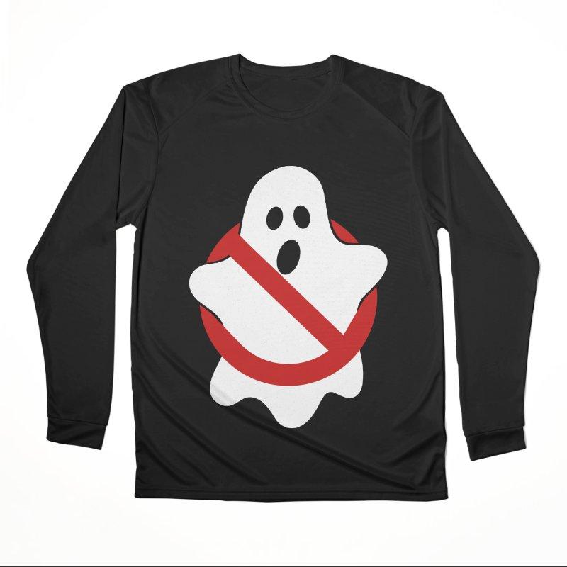 Beware of ghost Men's Performance Longsleeve T-Shirt by clingcling's Artist Shop