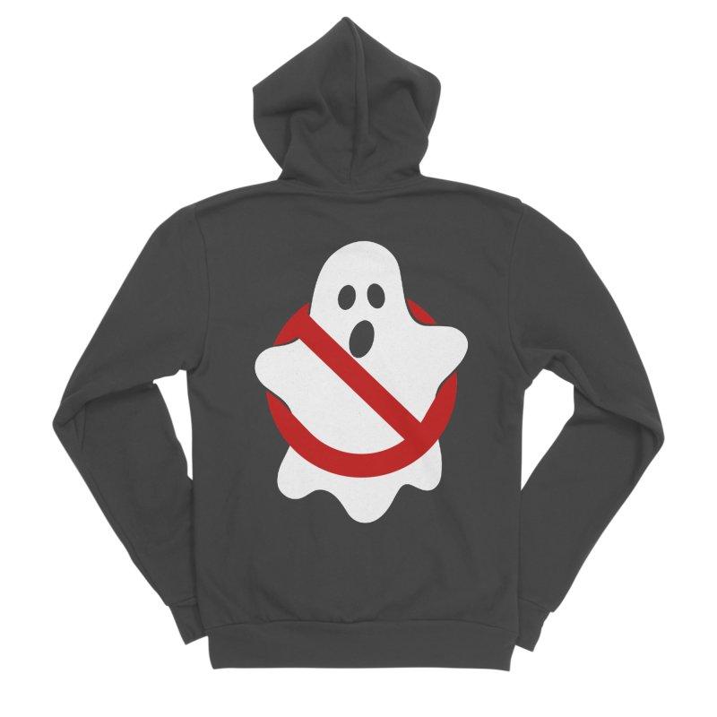 Beware of ghost Men's Sponge Fleece Zip-Up Hoody by clingcling's Artist Shop