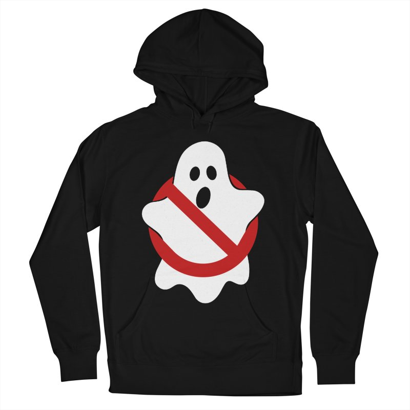 Beware of ghost Men's French Terry Pullover Hoody by clingcling's Artist Shop
