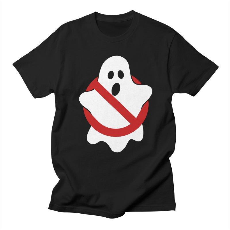 Beware of ghost Men's Regular T-Shirt by clingcling's Artist Shop
