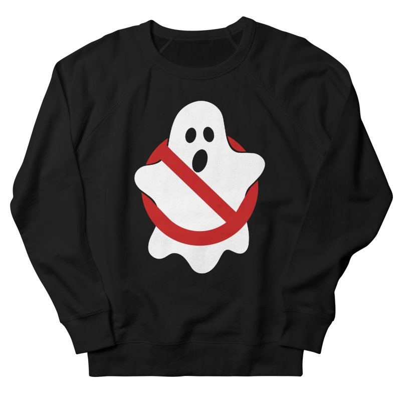 Beware of ghost Men's French Terry Sweatshirt by clingcling's Artist Shop