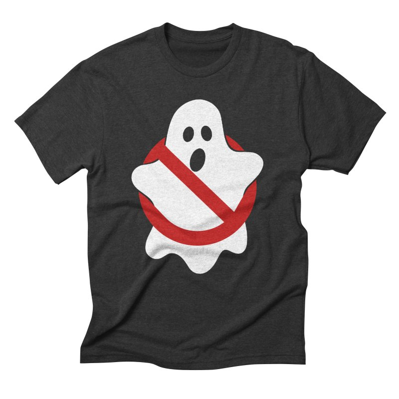 Beware of ghost Men's Triblend T-Shirt by clingcling's Artist Shop