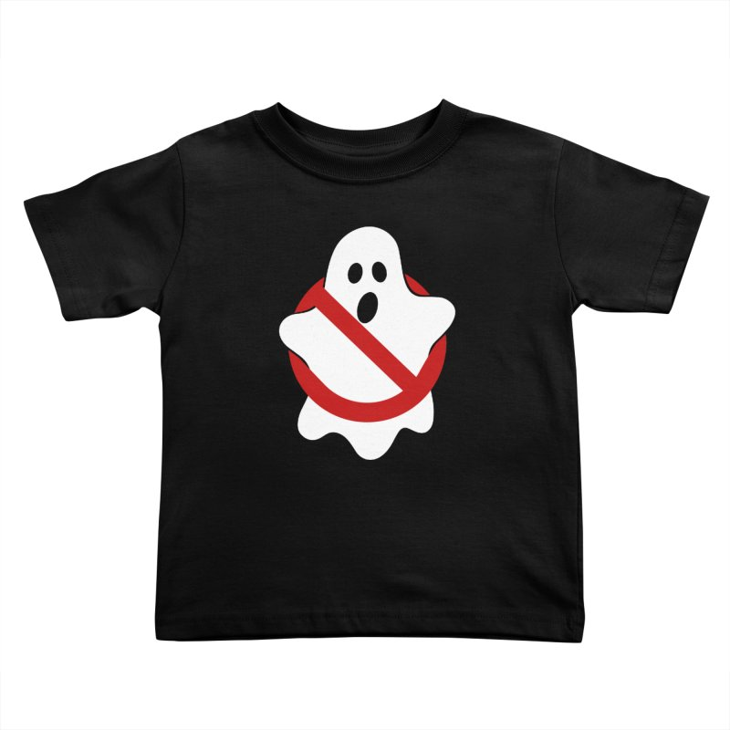 Beware of ghost Kids Toddler T-Shirt by clingcling's Artist Shop