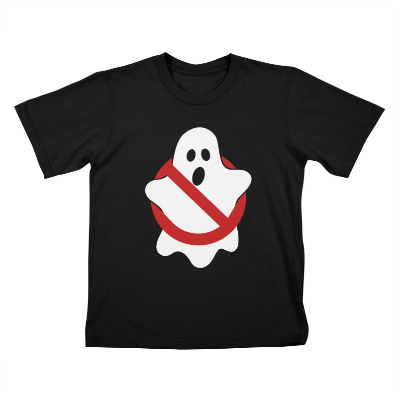 Beware of ghost Kids T-Shirt by clingcling's Artist Shop