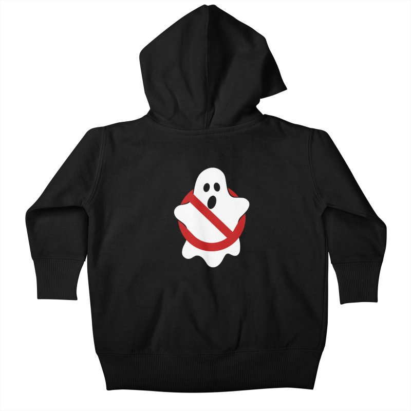 Beware of ghost Kids Baby Zip-Up Hoody by clingcling's Artist Shop