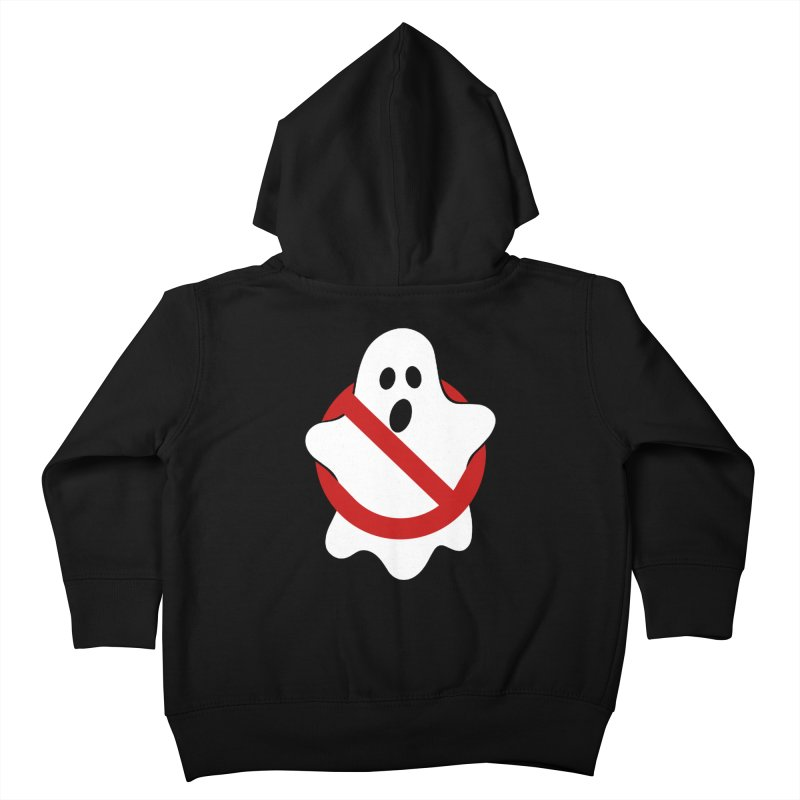 Beware of ghost Kids Toddler Zip-Up Hoody by clingcling's Artist Shop