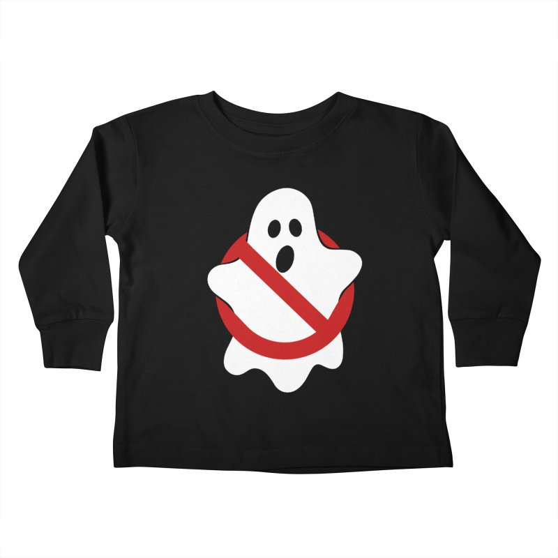 Beware of ghost Kids Toddler Longsleeve T-Shirt by clingcling's Artist Shop