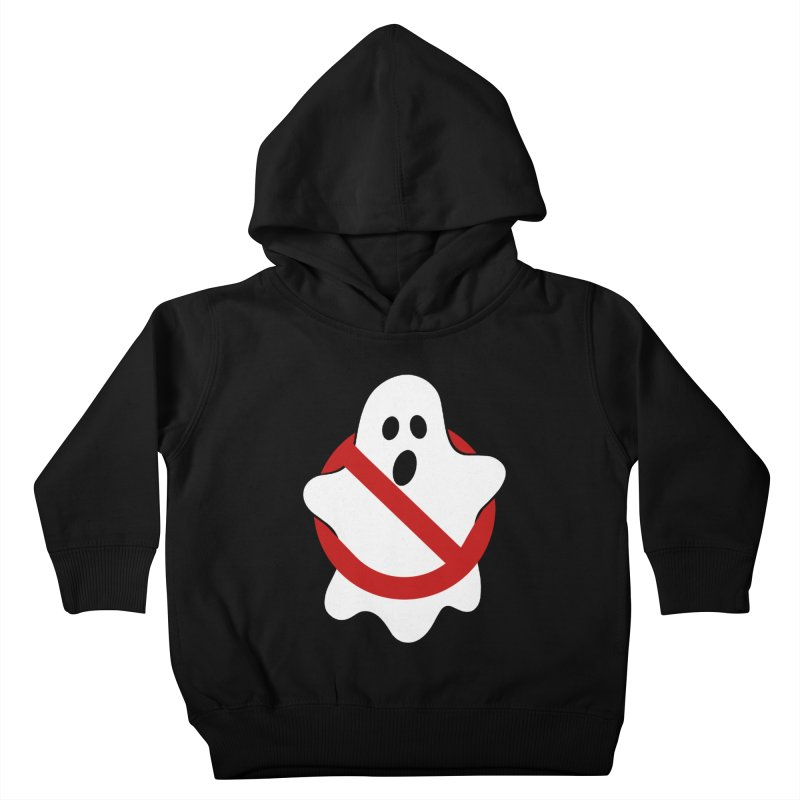 Beware of ghost Kids Toddler Pullover Hoody by clingcling's Artist Shop