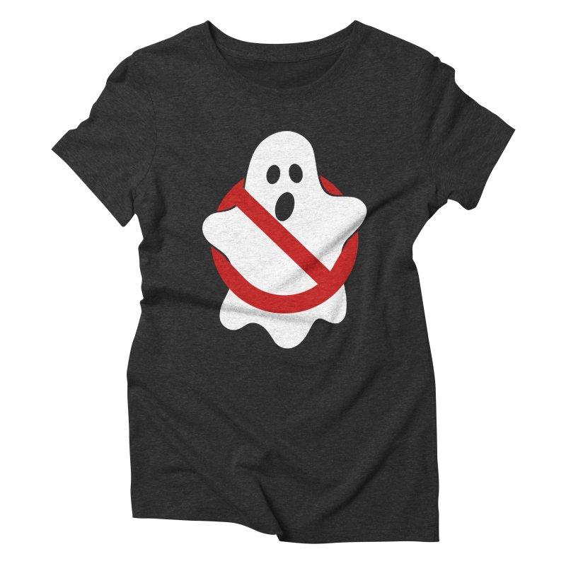 Beware of ghost Women's Triblend T-Shirt by clingcling's Artist Shop
