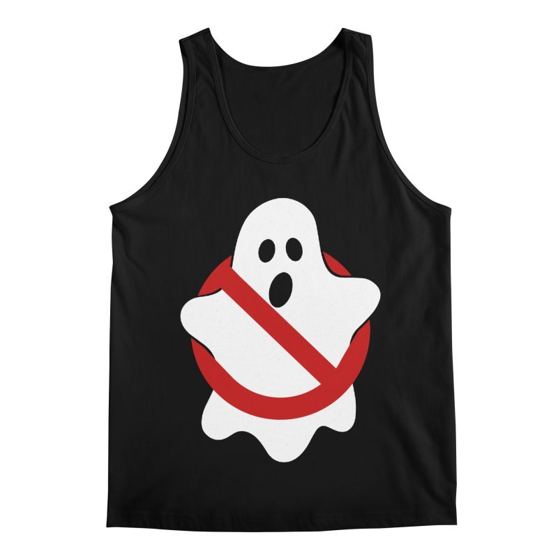 Beware of ghost Men's Regular Tank by clingcling's Artist Shop