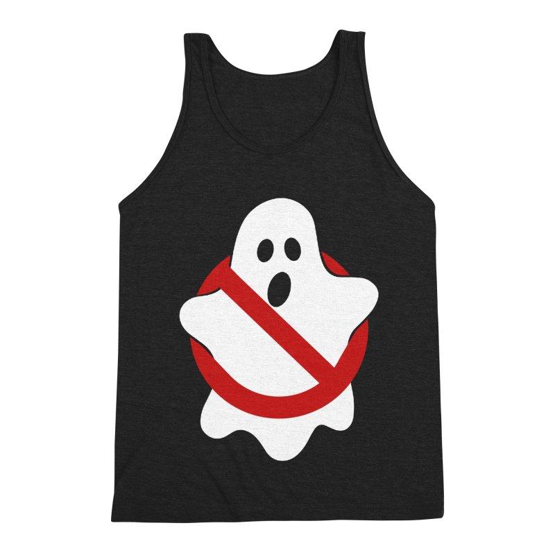 Beware of ghost Men's Triblend Tank by clingcling's Artist Shop