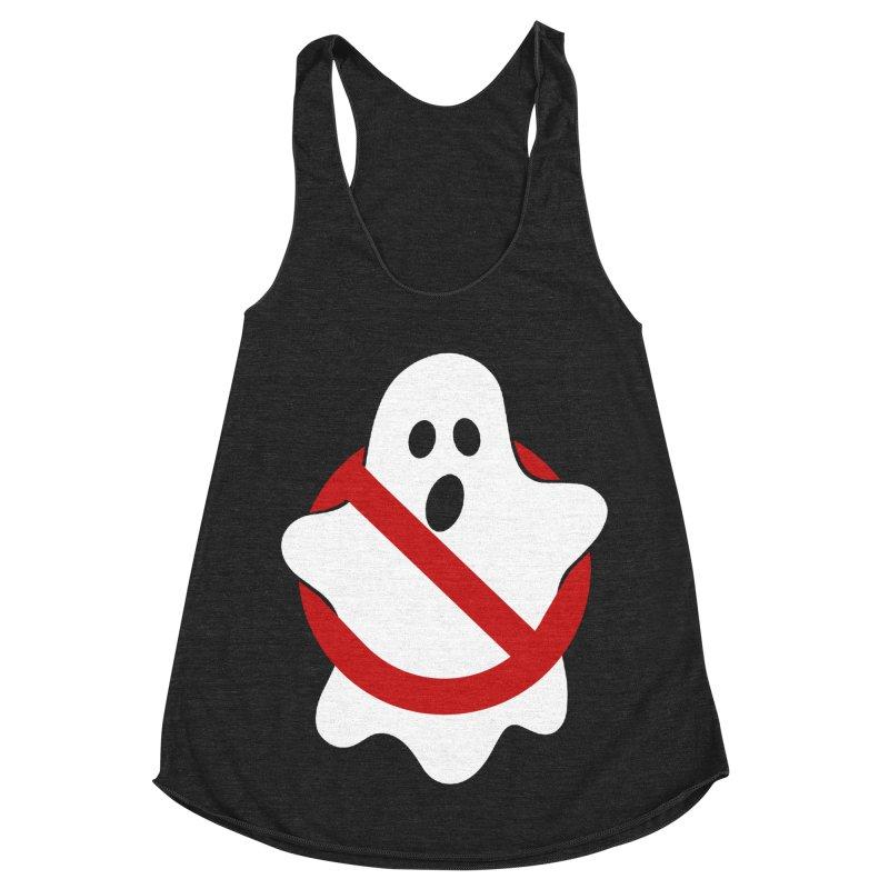 Beware of ghost Women's Racerback Triblend Tank by clingcling's Artist Shop