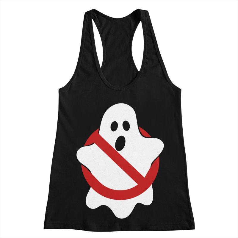Beware of ghost Women's Racerback Tank by clingcling's Artist Shop