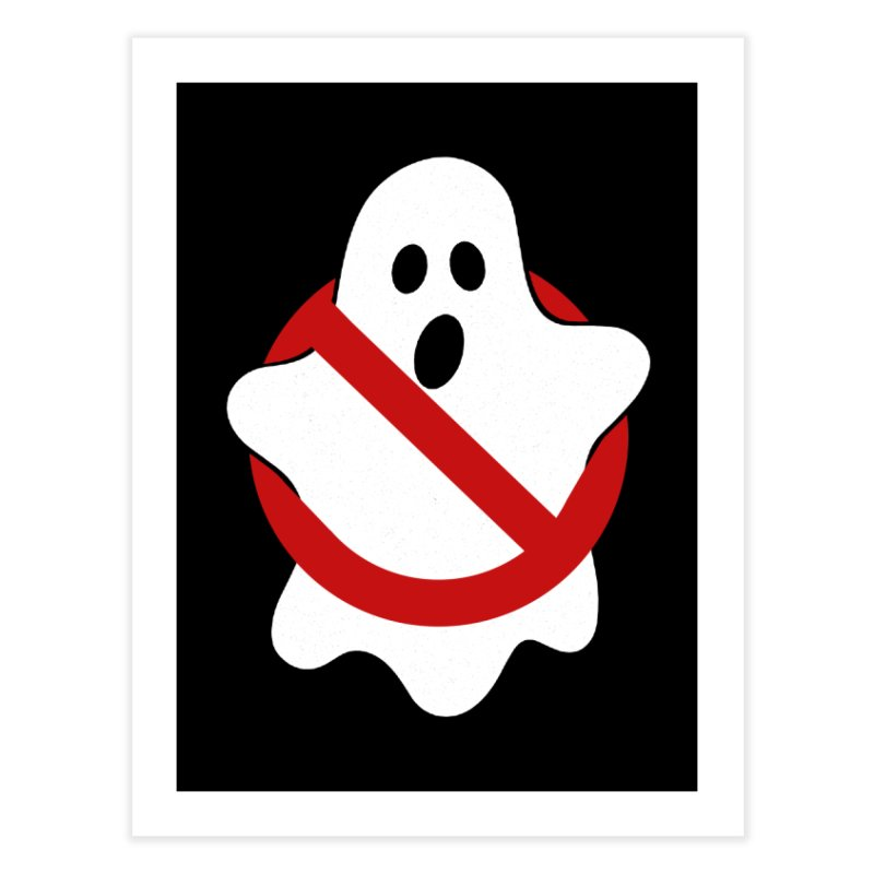Beware of ghost Home Fine Art Print by clingcling's Artist Shop