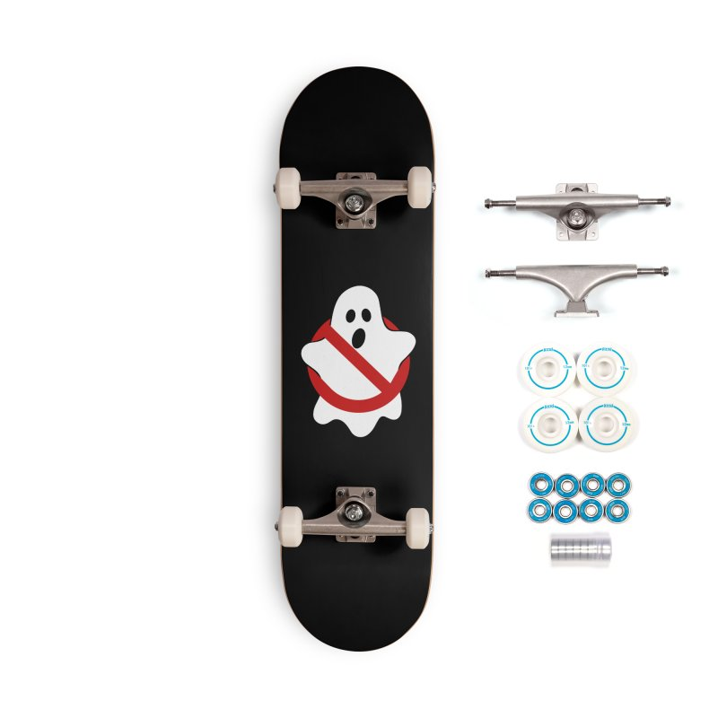 Beware of ghost Accessories Complete - Basic Skateboard by clingcling's Artist Shop