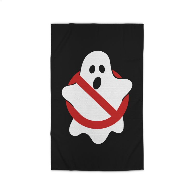 Beware of ghost Home Rug by clingcling's Artist Shop