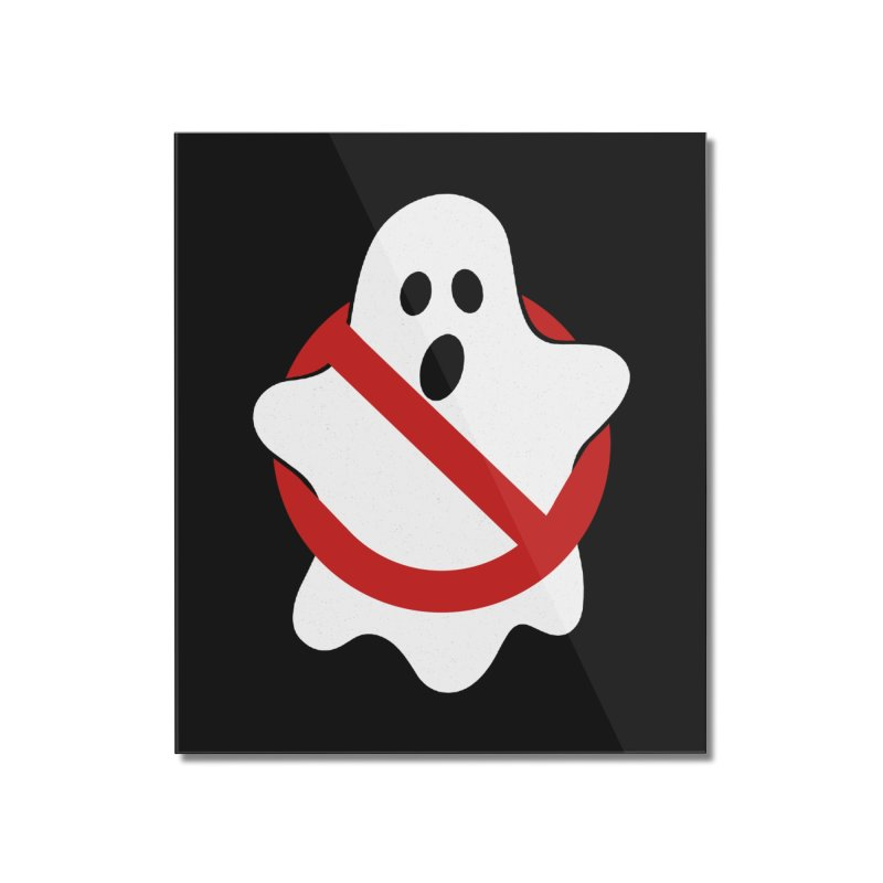 Beware of ghost Home Mounted Acrylic Print by clingcling's Artist Shop