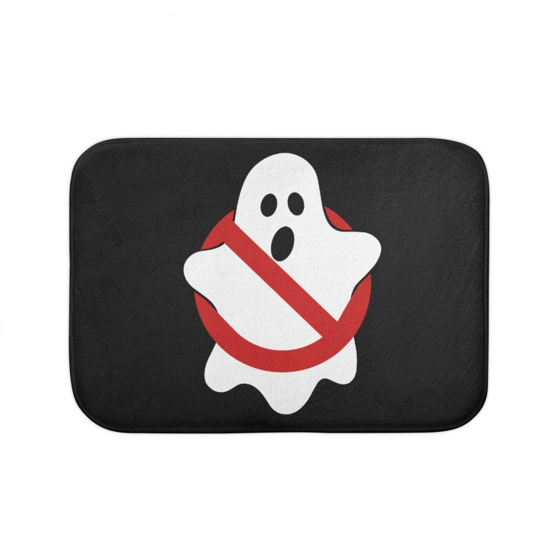 Beware of ghost Home Bath Mat by clingcling's Artist Shop