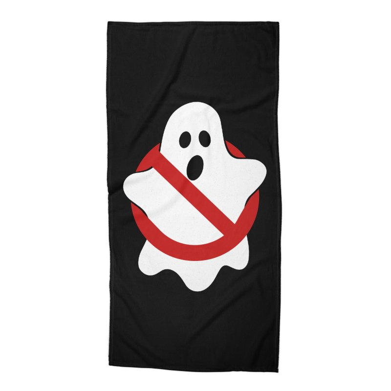 Beware of ghost Accessories Beach Towel by clingcling's Artist Shop