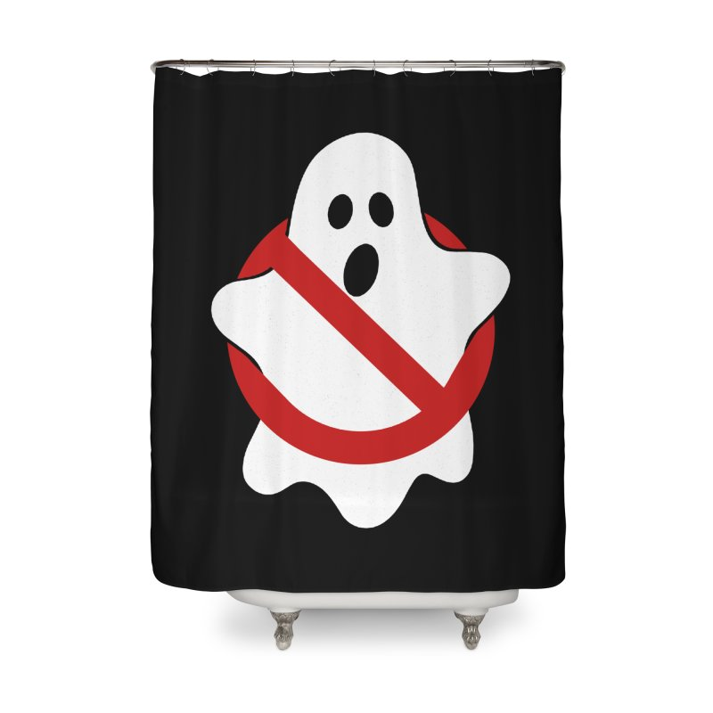 Beware of ghost Home Shower Curtain by clingcling's Artist Shop