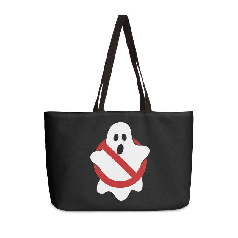 Beware of ghost Accessories Weekender Bag Bag by clingcling's Artist Shop
